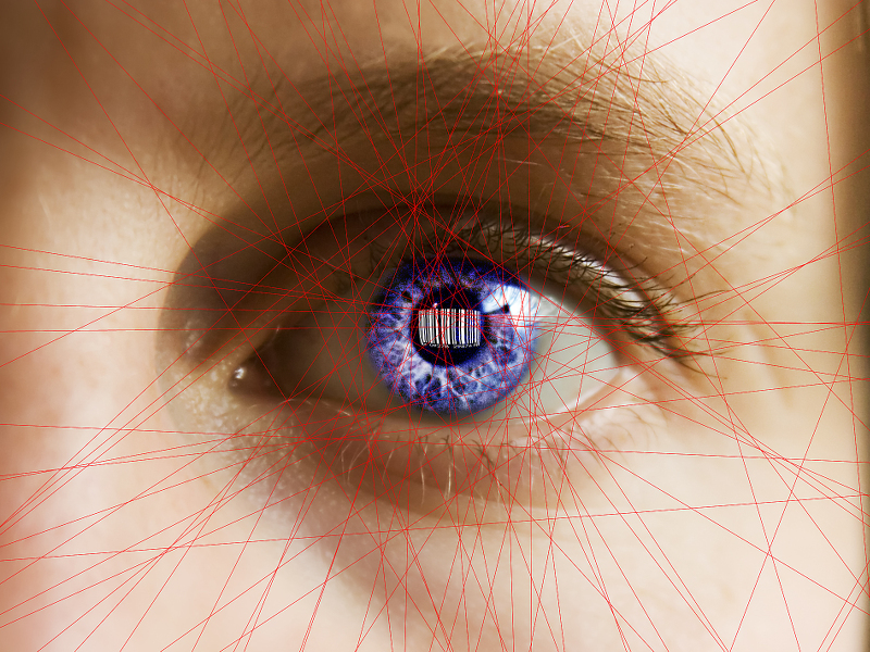 Forget Apple's fingerprint reader, Samsung's eyeing up new iris biometric security