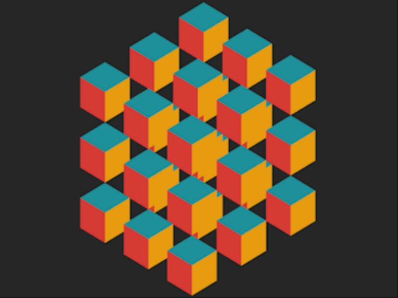 Gigglebit: gloriously captivating geometric GIFs (art)