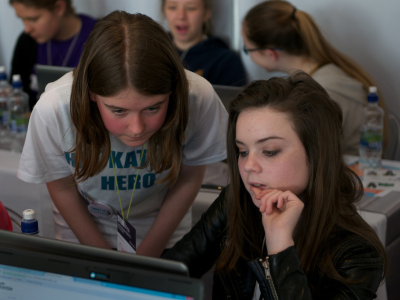 Guest column: 12-year-old's view of Girls Hack Ireland