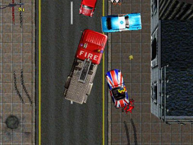Scrolling Pixels: GTA London is proper nawty!