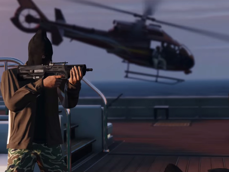 Grand Theft Auto Online's Heists patch runs to 4.8GB on Xbox One