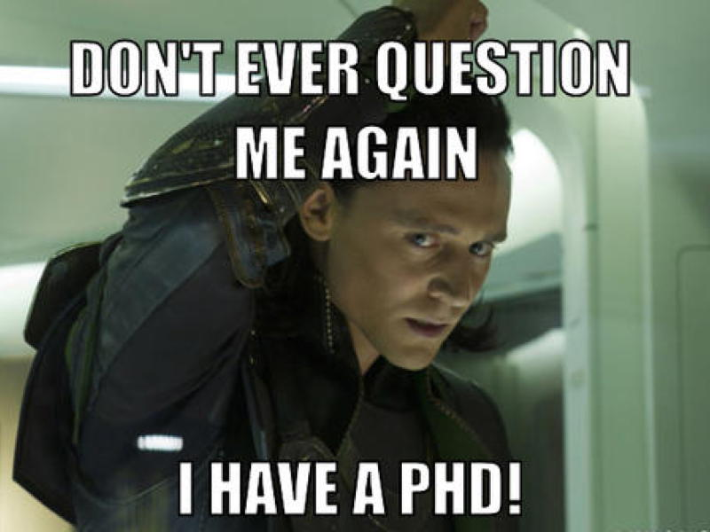 10 memes relate to PhD students