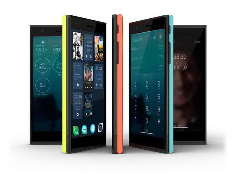 First look at the new Jolla smartphone (video)