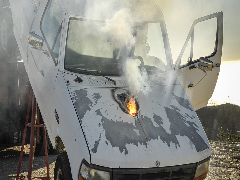 Lockheed Martin develops laser cannon that can stop a truck from 1.5km away