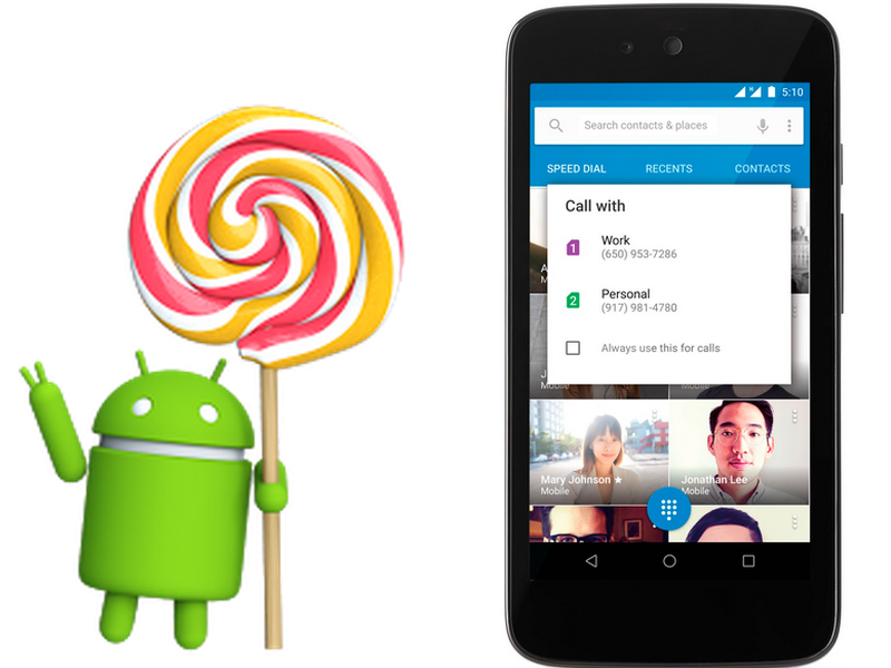 In case you missed it, Android Lollipop just got an upgrade