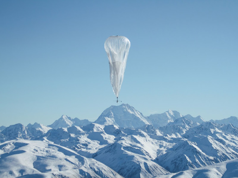 Google's globetrotting broadband balloons work with the wind