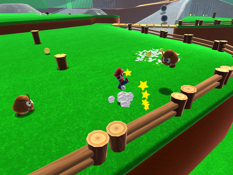 Level one of Super Mario 64 is now playable in your browser