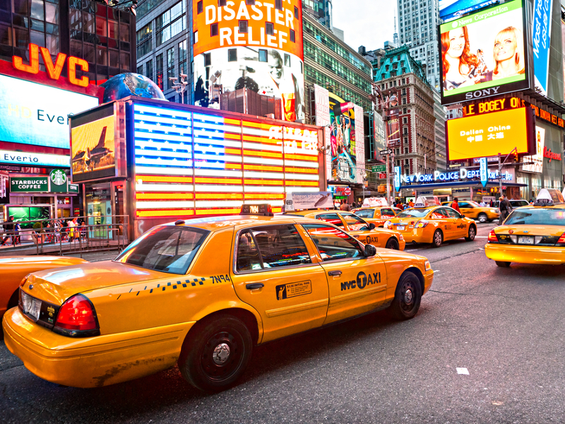 Uber cars now outnumber yellow cabs in New York