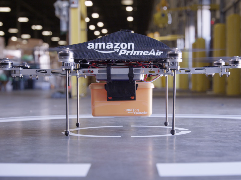 Amazon crosses the border to trial drones for its Prime Air service in Canada