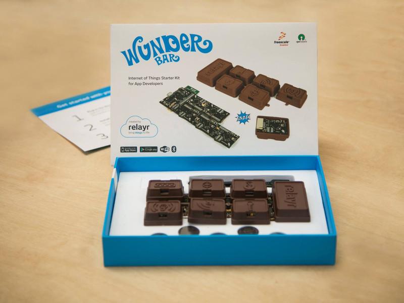 'Chocolate bar' of IoT sensors wins €30,000 Code_n prize at CeBIT