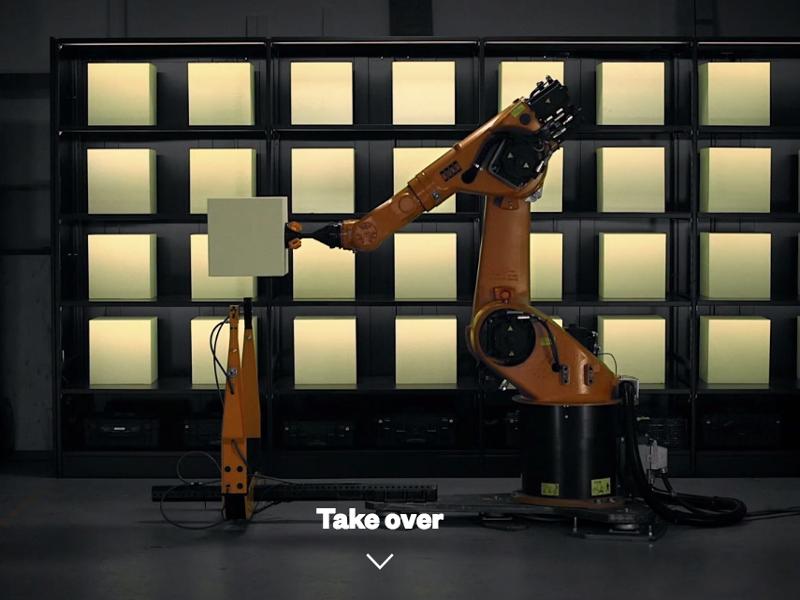 Gigglebit: control your own robotic 3D sculpting machine (interactive)