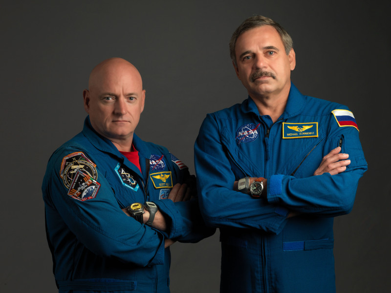 Gigglebit: How Scott Kelly will wash his head for a year in space