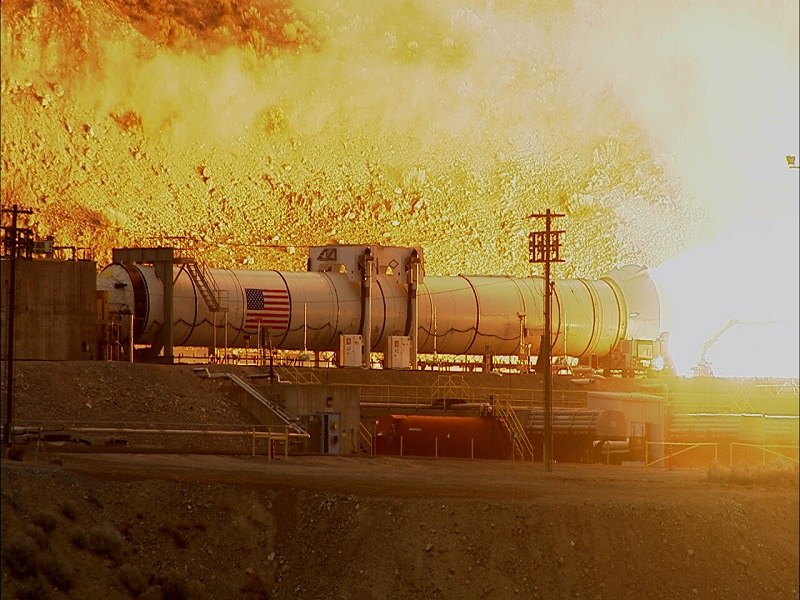 Big rocket go now! NASA tests largest, most powerful rocket booster ever built