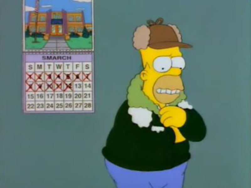 Gigglebit: Lousy Smarch weather!