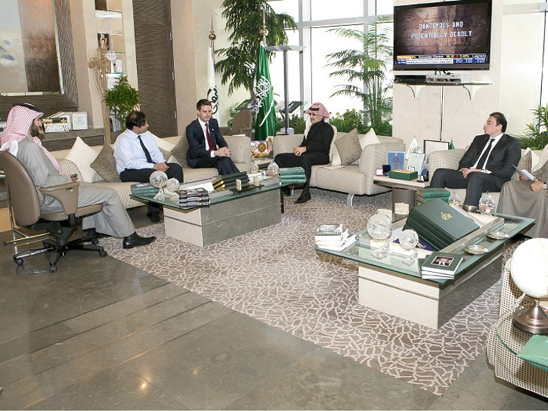 Snapchat meets Saudi Arabia's Prince Alwaleed over potential partnership