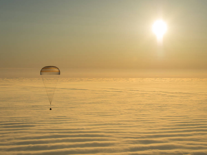 ISS trio lands safely in Kazakhstan after six months in space