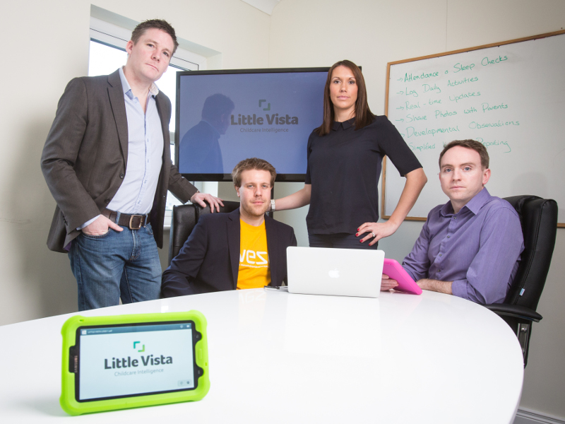 Childcare tech start-up Little Vista to create nine new jobs after investment