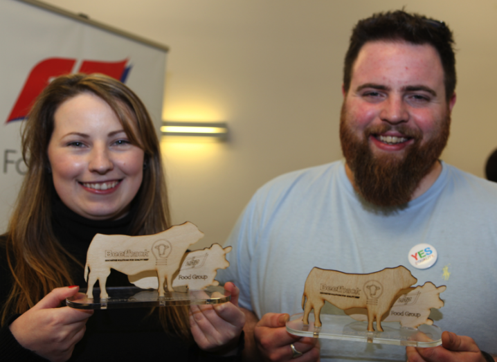 Beef Hackathon winners, DCU Innovation Campus