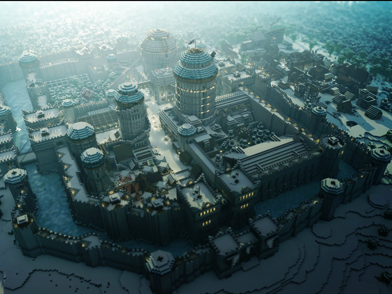 Gigglebit: Visit Minecraft's Westeros while you wait for Game of Thrones season 5