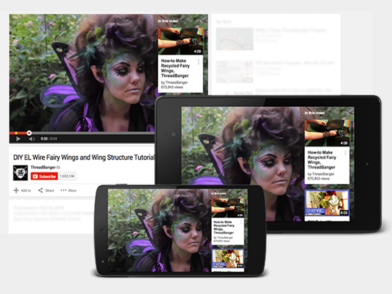 YouTube to clutter up videos with new interactive cards
