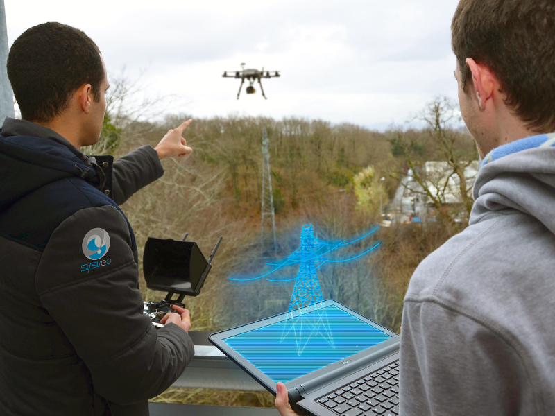 Drones being developed that can transmit augmented reality