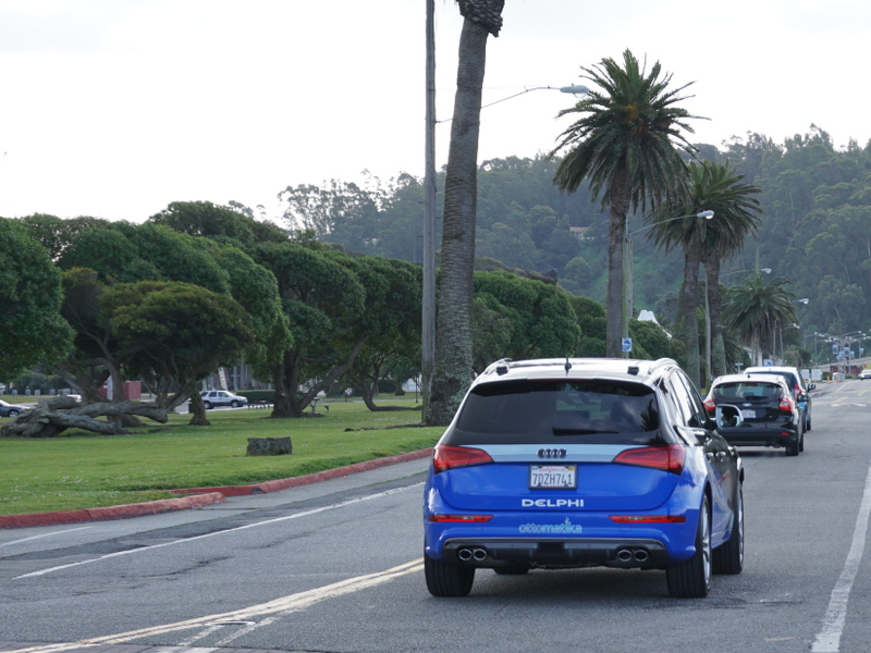 Autonomous car completes 3,400-mile trip from San Francisco to New York