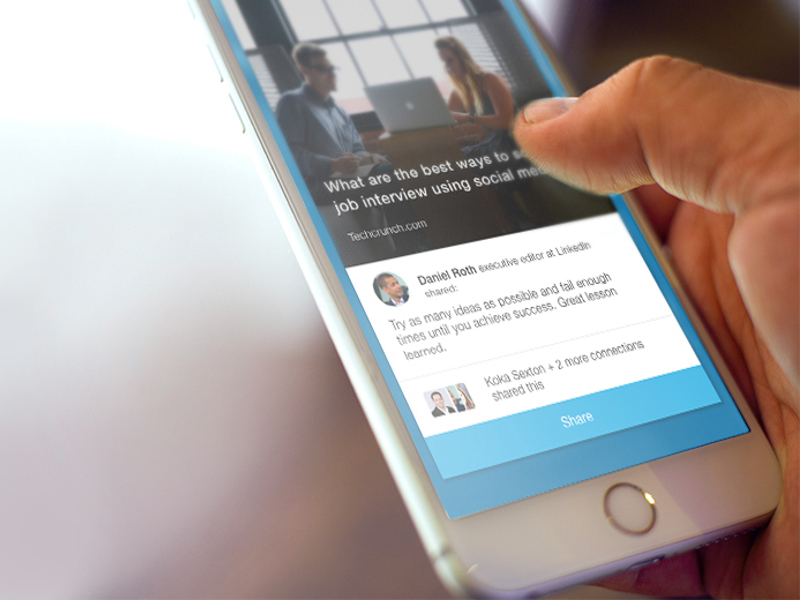 LinkedIn introduces Elevate app to help users share content from their employers