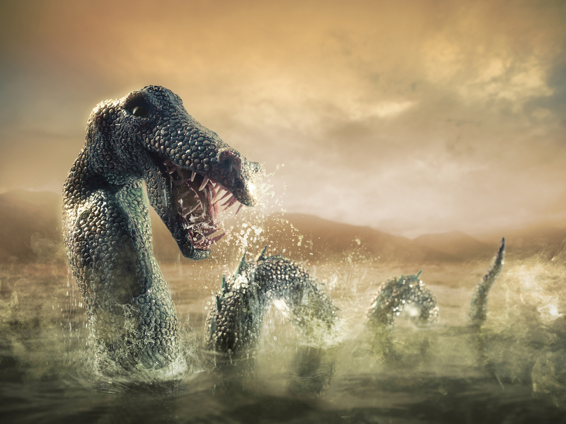 He's alive! Google Doodle celebrates Loch Ness Monster photo