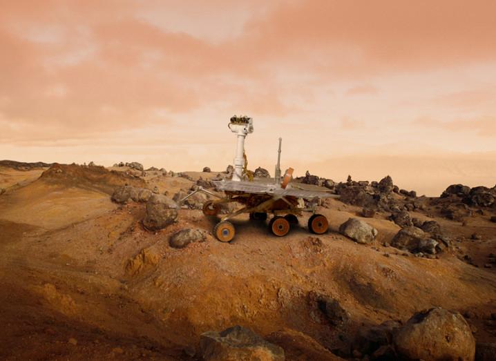 water on mars mars rover - photo #14