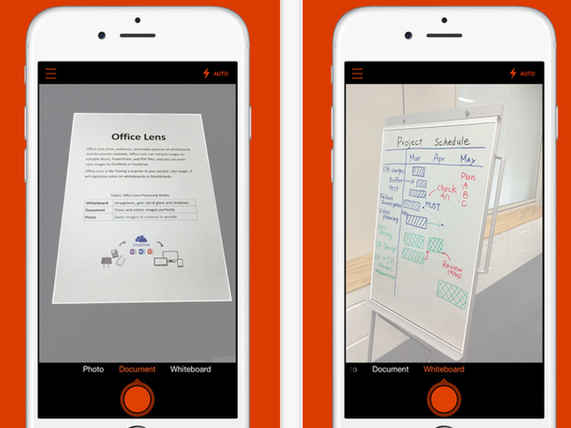 Microsoft releases popular Office Lens app to iPhone and Android platforms