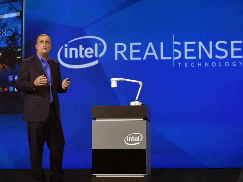 Intel shrinking its RealSense 3D camera for smartphones