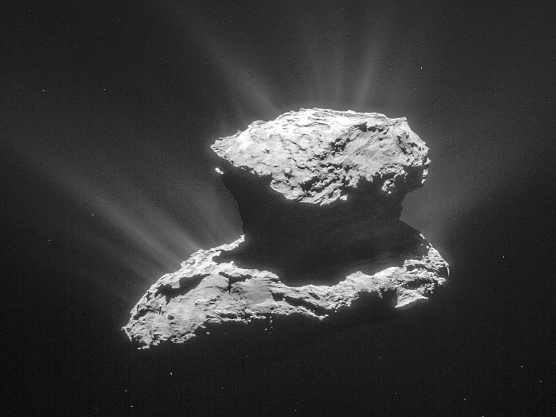 Rosetta and Philae probes find Comet 67P is not magnetised
