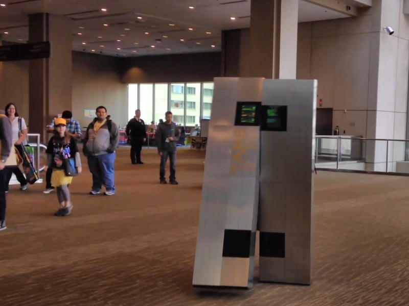 Gigglebit: Watch this guy build a TARS From Interstellar costume