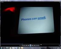 'Phones that smell' video screengrab