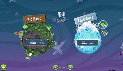 Image of the new 'Angry Birds Space.' Credit: Rovio