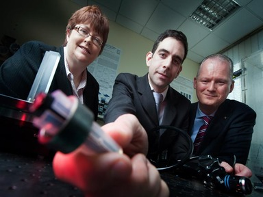 Anita Maguire, Dr Padraig Cantillon-Murphy and Prof Peter O'Keeffe
