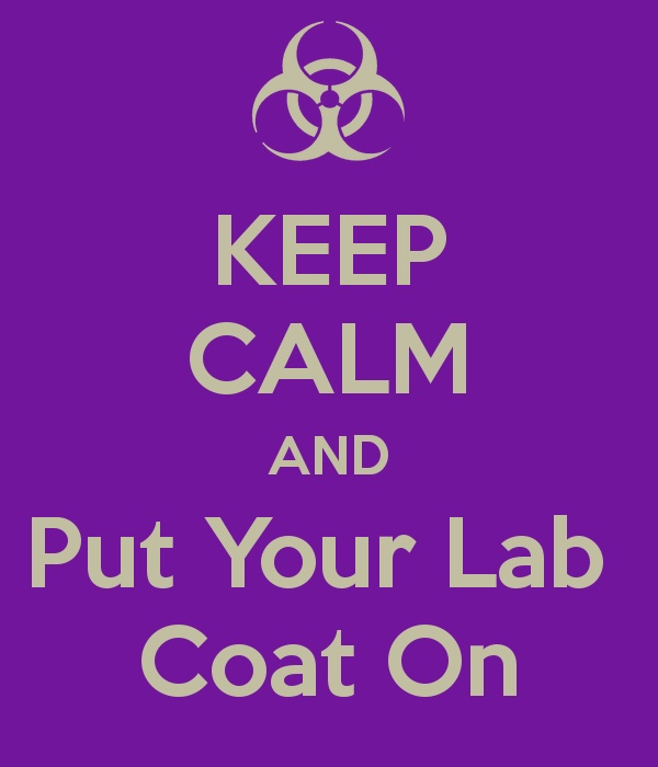 Lab technician meme