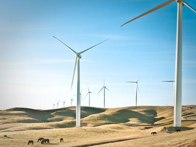 Alta wind farm in California