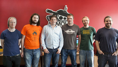 Armour Interactive team in Galway