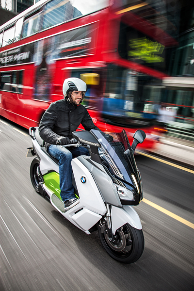 e-scooter in London