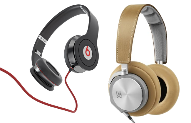 Beats and BeoPlay headphones