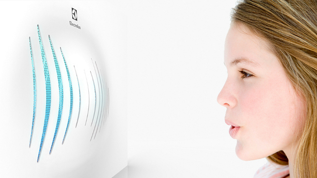 Breathing Wall - Electrolux Design Lab Finalist