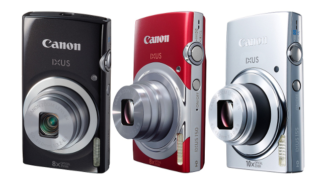 Canon Ixus 145, 150 and 155