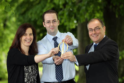Carlow IT winner in 2012 Engineers Ireland Student of the Year Awards