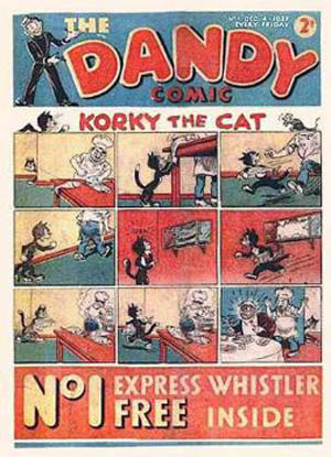 First issue of The Dandy