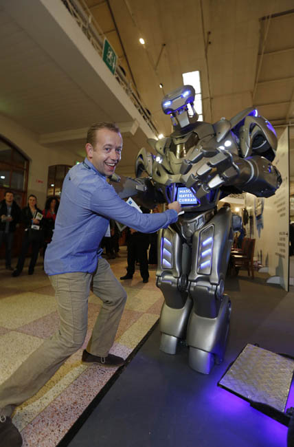 Titan the Robot at the Dublin Web Summit