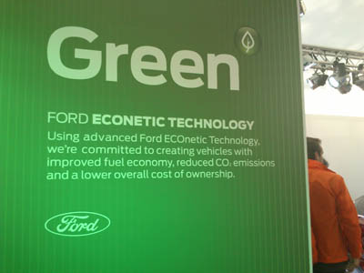 Ford ECOnetic technology