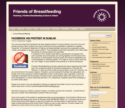 Friends of Breastfeeding - Ireland