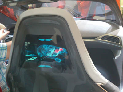 Futuristic cloud-connected technologies on display in the Ford Evos Concept