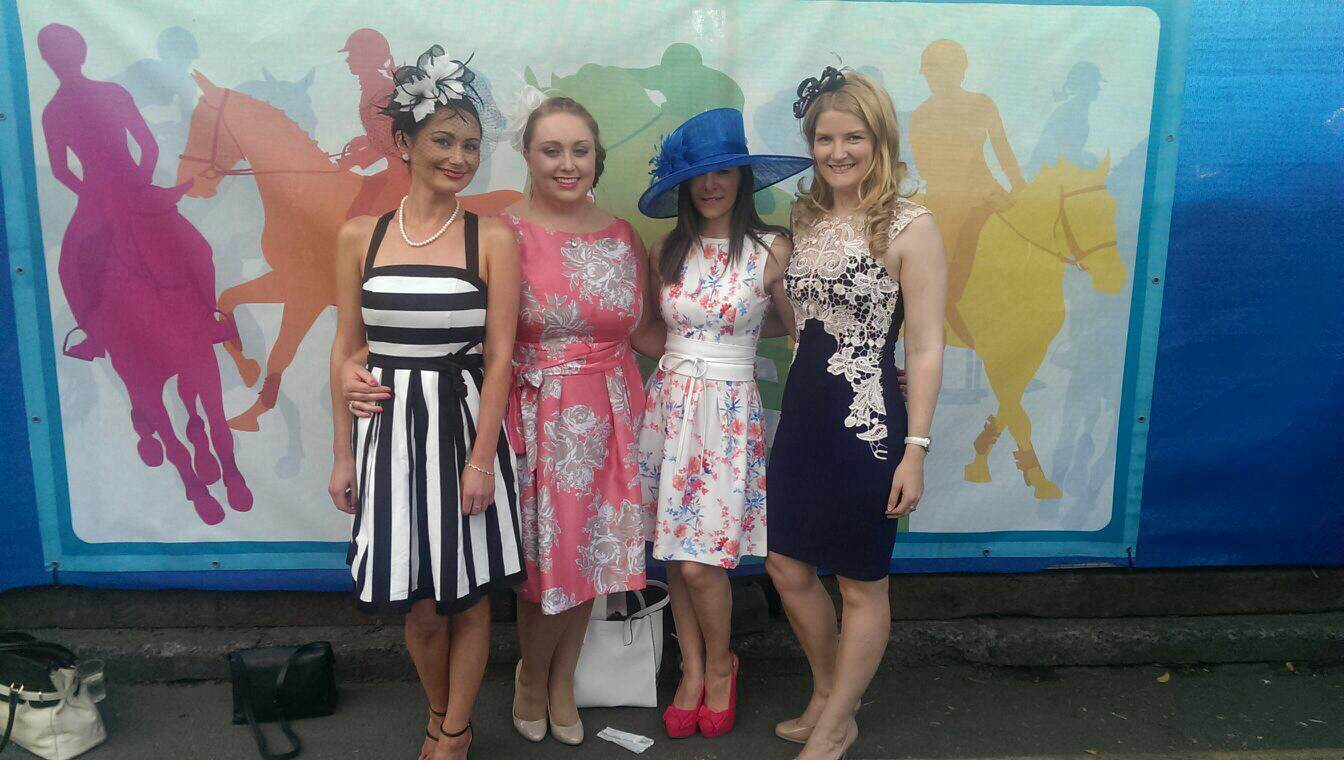 GirlCrew at the races